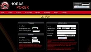 Cara Deposit Horas Poker